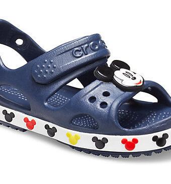 Kids' Crocs Fun Lab Crocband™ II Disney Mickey Mouse Sandal