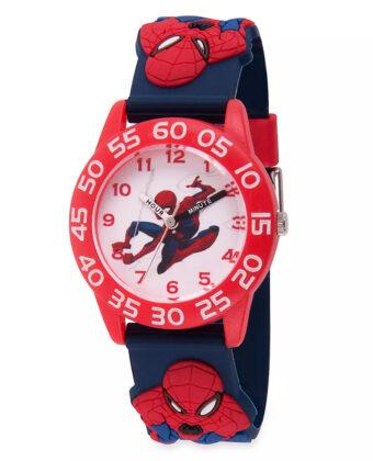 Spider-Man Time Teacher Watch for Kids – 3D Band