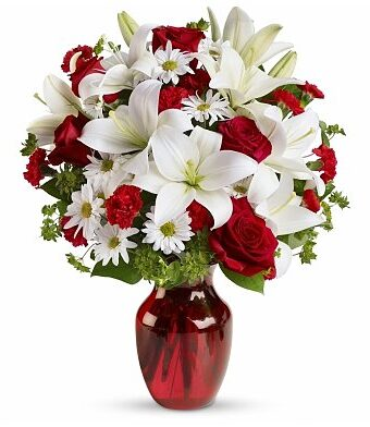 Be Mine Bouquet with Red Roses