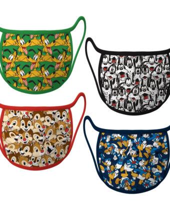 Cloth Face Masks 4-Pack – Disney Friends