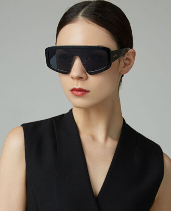 Unisex casual creativo dashing marco completo comodo asiento nasal UV gafas de sol de proteccion