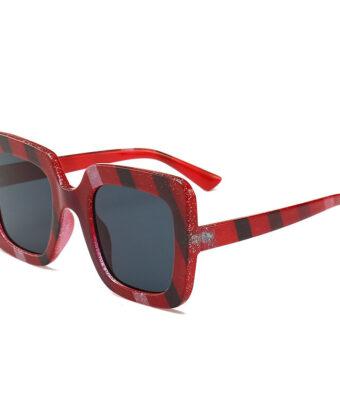 Gafas de sol cuadradas de moda para mujer al aire libre UV ante ojos gafas de sol finas de alta definicion