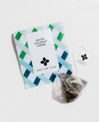 MEDIUM CAFFEINE White Coconut Crème Eco Teabag Sachets