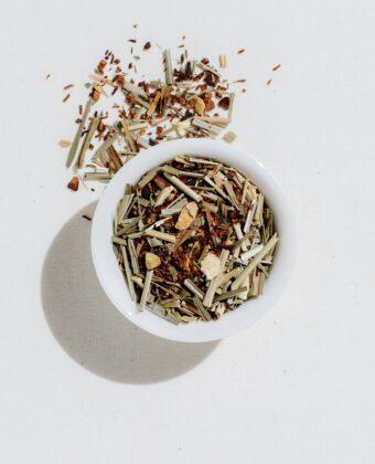 CAFFEINE FREE French Lemon Ginger Tea
