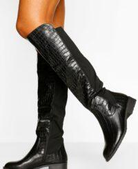 Wider Calf Knee High Riding Boots